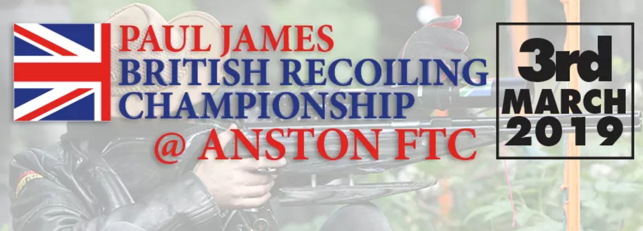 Paul James British Recoiling Championship